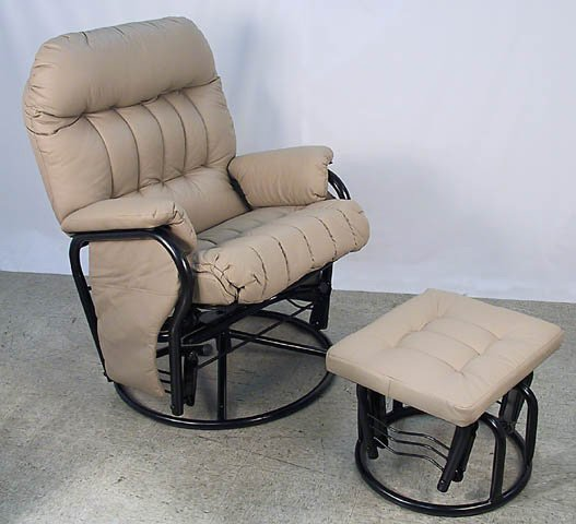 Giovanni Rizzo 360 Degrees Swivel Glider Rocker Chair