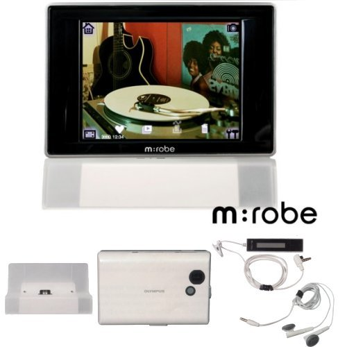 OLYMPUS M Robe 500 - 20GB Digital Audio Player and Digital Camera With 3.7  TFT color LCD display