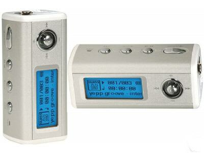 Samsung Yepp YP-T6X World's Smallest Portable 512MB MP3 Player with 3-line LCD and FM Tuner