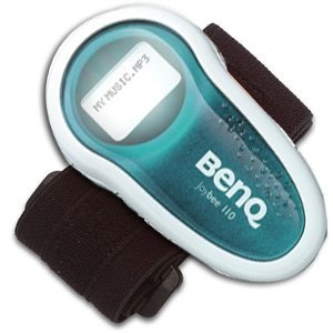 BenQ Joybee 256 MB Green MP3 Player with Arm Band