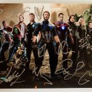 The Avengers Infinity War cast signed autographed photo photograph Robert Downey Jr.