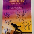 Bohemian Rhapsody cast signed autographed 8x12 photo Rami Malek photograph