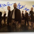 Breaking Bad cast signed autographed 8x12 photo photograph Bryan Cranston Aaron Paul