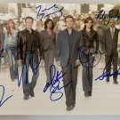 CASTLE cast signed autographed 8x12 photo photograph Stana Katic Nathan Fillion
