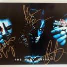 Batman The Dark Knight cast signed autographed 8x12 photo Heath Ledger photograph