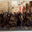 Game of Thrones cast signed autographed 8x12 photo Kit Harington Peter Dinklage