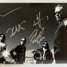 Metallica band signed autographed 8x12 photo photograph James Hetfield Kirk Hammett