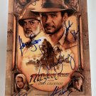 Indiana Jones cast signed autographed 8x12 photo photograph Harrison Ford Sean Connery