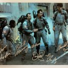 Ghostbusters cast signed autographed 8x12 photo photograph Bill Murray Dan Aykroyd