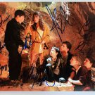 The Goonies cast signed autographed 8x12 photo Corey Feldman Sean Astin