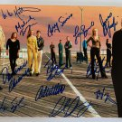 The Sopranos cast signed autographed 8x12 photo James Gandolfini Lorraine Bracco