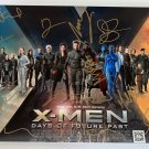 X-Men Days of Future Past cast signed autographed 8x12 photo Jennifer Lawrence