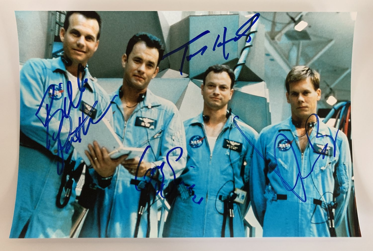 Apollo 13 cast signed autographed 8x12 photo photograph Tom Hanks Bill Paxton