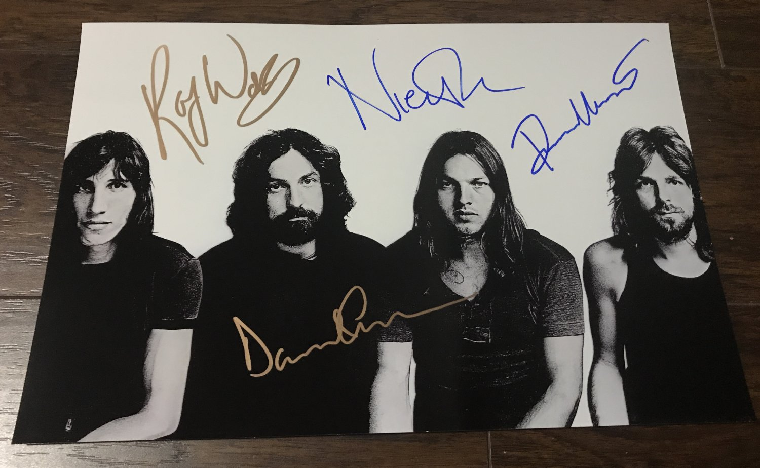 Pink Floyd band signed autographed 8x12 photo Roger Waters David Gilmour photograph