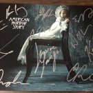 American Horror Story cast signed autographed 8x12 photo Evan Peters Sarah Paulson