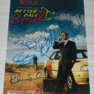 Better Call Saul cast signed autographed 8x12 photo Bob Odenkirk Rhea Seehorn