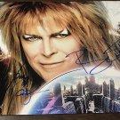 Labyrinth cast signed autographed 8x12 photo David Bowie Jennifer Connelly