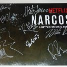 NARCOS cast signed autographed 8x12 photo Boyd Holbrook Pedro Pascal