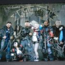 Suicide Squad cast signed autographed 8x12 photo Margot Robbie Jared Leto