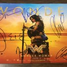 Wonder Woman cast signed autographed 8x12 photo Gal Gadot Chris Pine