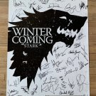 Game of Thrones cast signed autographed 36x24 poster Kit Harington Peter Dinklage