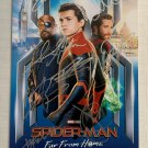 Spider-Man Far From Home cast signed autographed 8x12 photo Tom Holland Jake Gyllenhall
