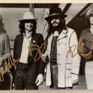 Led Zeppelin band signed autographed 8x12 photograph Jimmy Page Robert Plant COA photo