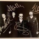 U2 band signed autographed 8x12 photograph Bono The Edge COA photo