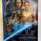Star Wars Episode IX The Rise of Skywalker cast signed autographed 8x12 photo Mark Hamill