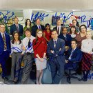 The Office cast signed autographed 8x12 photo Steve Carrell Rainn Wilson photograph