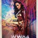Wonder Woman 1984 cast signed autographed 8x12 photo Gal Gadot Chris Pine WW84