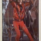Michael Jackson signed autographed 8x12 photo Thriller autographs