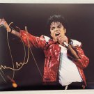 Michael Jackson Thriller signed autographed 8x12 photo photograph autographs