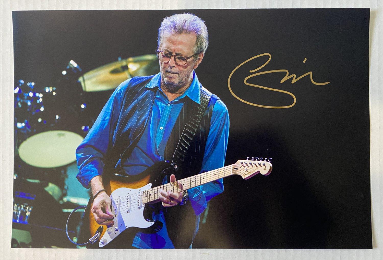 Eric Clapton signed autographed 8x12 photo photograph The Yardbirds