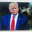 Donald Trump 2020 president signed autographed 8x12 photo photograph white house