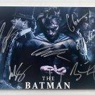 The Batman cast signed autographed 8x12 photo Robert Pattinson Colin Farrell photograph autographs