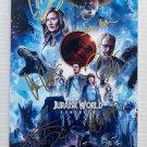 Jurassic World Dominion cast signed autographed 8x12 photo Sam Neill Chris Pratt photograph