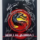 Mortal Kombat 2021 cast signed autographed 8x12 photo Ludi Lin Jessica McNamee photograph