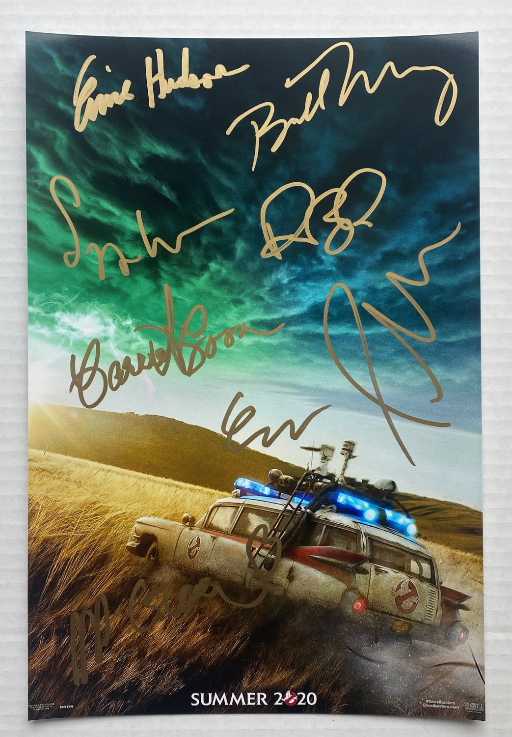 Ghostbusters 3 Afterlife cast signed autographed 8x12 photo Bill Murray Dan Aykroyd photograph