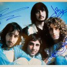 The Who band signed autographed 8x12 photo Pete Townshend Roger Daltrey John Entwistle