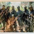Predator cast signed autographed 8x12 photo Arnold Schwarzenegger Carl Weathers