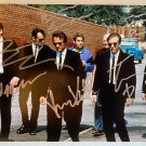 Reservoir Dogs cast signed autographed 8x12 photo Harvey Keitel Tim Roth