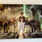 Aliens 1986 cast signed autographed 8x12 photo Sigourney Weaver Bill Paxton