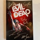 The Evil Dead cast signed autographed 8x12 photo Bruce Campbell Sam Raimi
