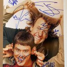Dumb and Dumber cast signed autographed 8x12 photo Jim Carrey Jeff Daniels
