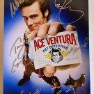 Ace Ventura Pet Detective cast signed autographed 8x12 photo Jim Carrey Courteney Cox