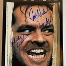 The Shining cast signed autographed 8x12 photo Jack Nicholson Shelley Duval