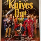 Knives Out cast signed autographed 8x12 photo Christopher Plummer Jamie Lee Curtis