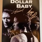 Million Dollar Baby cast signed autographed 8x12 photo Clint Eastwood Morgan Freeman