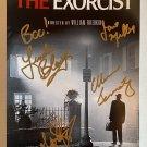 The Exorcist cast signed autographed 8x12 photo Linda Blair Ellen Burstyn